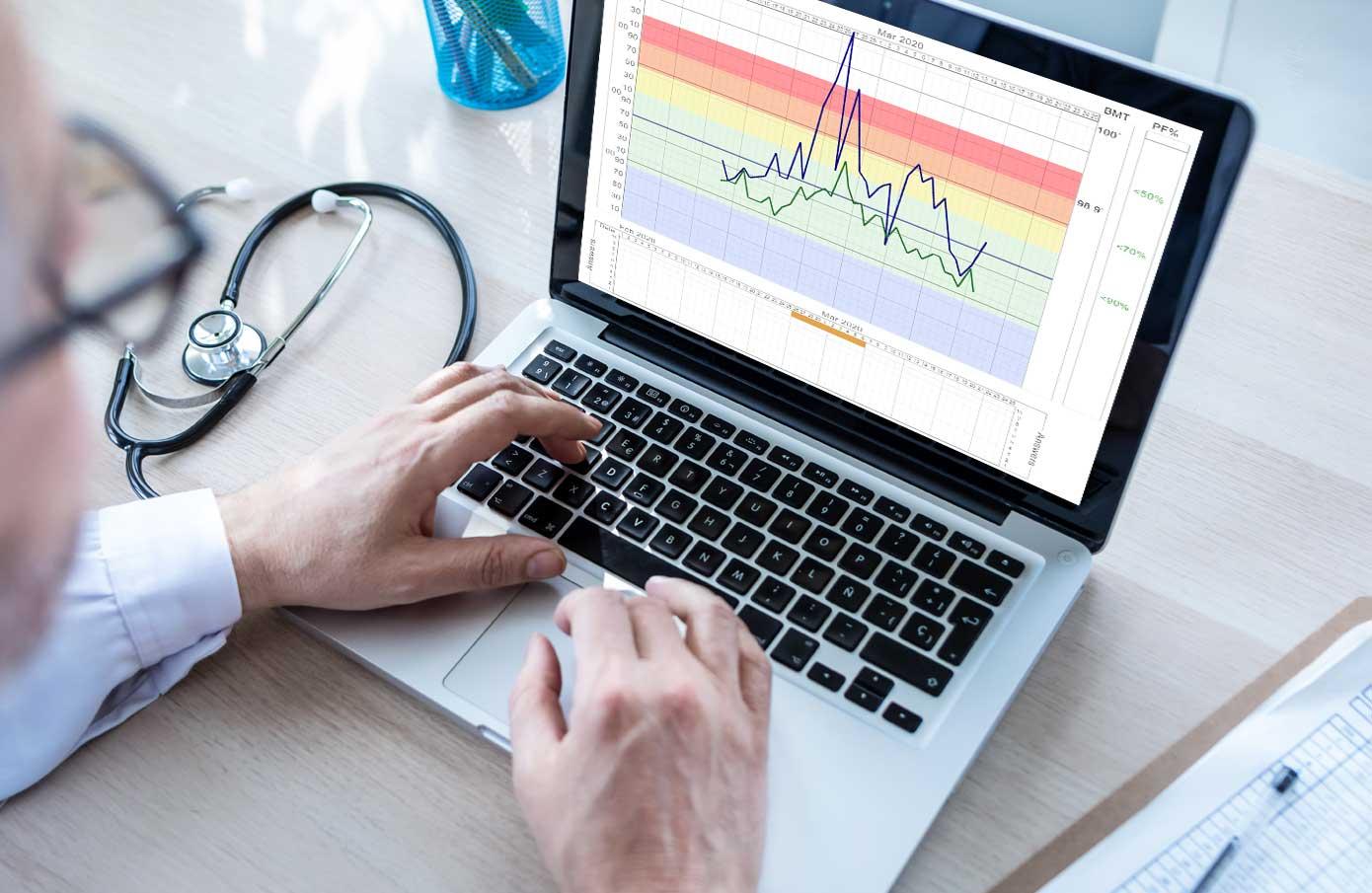 Doctors Computer Display